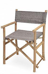 DekorStyle Skládací židle GURRA šedá