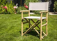 DekorStyle Skládací židle GURRA světle šedá