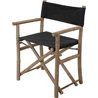 DekorStyle Skládací židle OLLIV černá