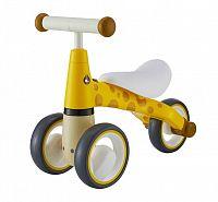 Dětské odrážedlo Žirafa EcoToys žluté