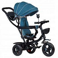 ECOTOYS Dětská tříkolka Robin modrá