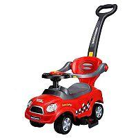 ECOTOYS Dětské odrážedlo autíčko červené
