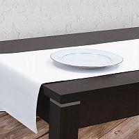 Scandi Běhoun na stůl PIRUU 40x140 cm bílý