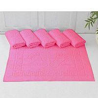 Scandi Koupelnový koberec 50x70 cm - růžový