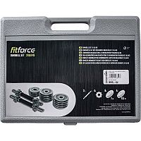 Fitforce ADBC 13,5 KG - Set jednoručních nakládacích činek