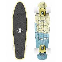 Long Island CALIFORNIA22 - Plastový mini longboard