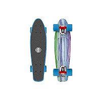 Long Island COLORS22 - Plastový mini longboard
