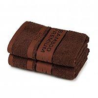 4Home Bamboo Premium ručník tmavě hnědá, 50 x 100 cm, sada 2 ks