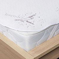4Home Lavender Chránič matrace s gumou, 180 x 200 cm