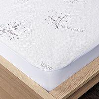 4Home Lavender Voděodolný chránič matrace s lemem, 200 x 200 cm