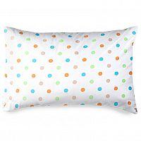 4home Povlak na polštářek Dots oranžová, 50 x 70 cm
