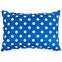 4Home Povlak na polštářek Modrý puntík, 50 x 70 cm, 50 x 70 cm