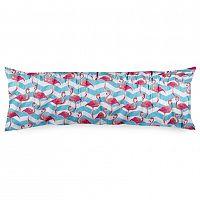 4Home Povlak na Relaxační polštář Náhradní manžel Flamingo, 50 x 150 cm