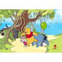 AG Art Dětská fototapeta XXL Medvídek Pú a jeho přátelé 360 x 270 cm