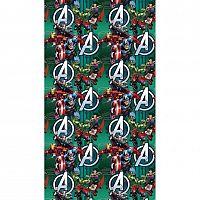 AG ART Dětský závěs Avengers, 140 x 245 cm