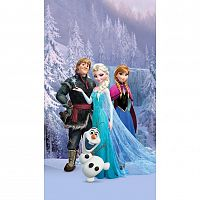 AG ART Dětský závěs Ledové království Frozen, 140 x 245 cm