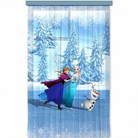 AG ART Dětský závěs Ledové království Frozen on ice, 140 x 245 cm
