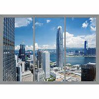 AG Art Fototapeta XXL Mrakodrapy 360 x 270 cm, 4 díly