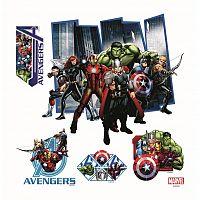 AG Art Samolepicí dekorace Avengers, 30 x 30 cm