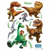 AG Art Samolepicí dekorace Hodný dinosaurus, 30 x 30 cm