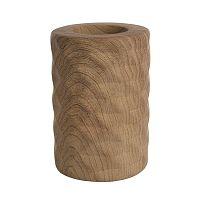 Altom Svícen porcelánový Wood, 8 x 11 cm