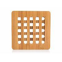 Banquet Podložka dřevěná BRILLANTE Bamboo 16 x 16 x 1 cm