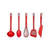 Banquet Sada kuchyňského náčiní Culinaria Red, 5 ks