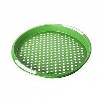 Banquet Tác zelený puntík pr. 40 cm, kulatý
