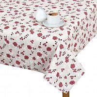 Bellatex Ubrus RITA 120x140cm Růžička s větvičkami, mix barev, 120 x 140 cm