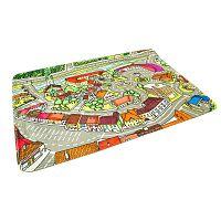 BO-MA Dětský koberec Město, 76 x 117 cm