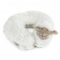 BO-MA Trading Cestovní polštářek Ovečka bílá, 30 cm