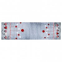 BO-MA Trading Vánoční běhoun Ozdoby látkové, 40 x 140 cm