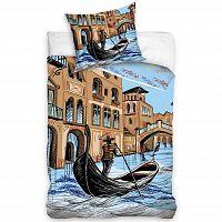 Carbotex povlečení Benátky bavlna, 160 x 200 cm, 70 x 80 cm