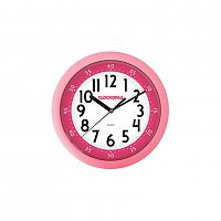 CCS2011 Nástěnné hodiny Clockodile, růžová