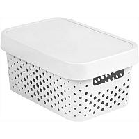 Curver úložný box Infinity 4,5 l, bílá
