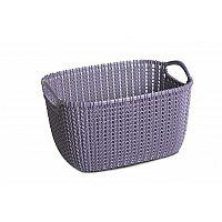 Curver Úložný box Knit 8 l, tmavě fialová