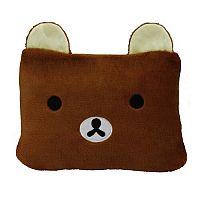 Domarex Dětská deka BEAR 2 v 1 hnědá, 75 x 100 cm
