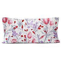 Domarex Povlak na polštář Květiny, 30 x 50 cm, 30 x 50 cm