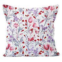 Domarex Povlak na polštář Květiny, 45 x 45 cm, 45 x 45 cm