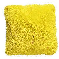 Domarex Povlak na polštář Muss žlutá, 40 x 40 cm