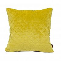 Domarex Povlak na polštářek Elite Velvet žlutá, 45 x 45 cm