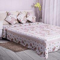 Domarex Přehoz na postel Růžová zahrada, 200 x 220 cm