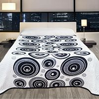 Forbyt Přehoz na postel Congo černá