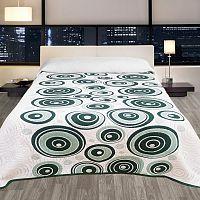 Forbyt Přehoz na postel Congo zelená, 240 x 260 cm