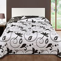 Forbyt Přehoz na postel Perola, šedá, 240 x 260 cm