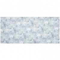 Forbyt Vánoční ubrus Hvězdy stříbrná, 40 x 90 cm