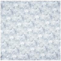 Forbyt Vánoční ubrus Hvězdy stříbrná, 85 x 85 cm