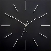 Future Time FT1010BK Square black Designové