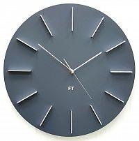 Future Time FT2010GY Round grey Designové