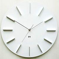 Future Time FT2010WH Round white Designové